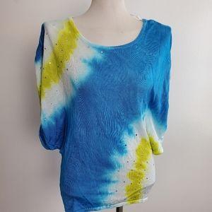 Fontana top tie dye